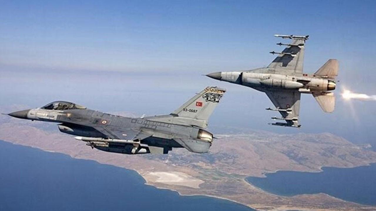 Irak'ın kuzeyine hava operasyonu: 2 terörist etkisiz