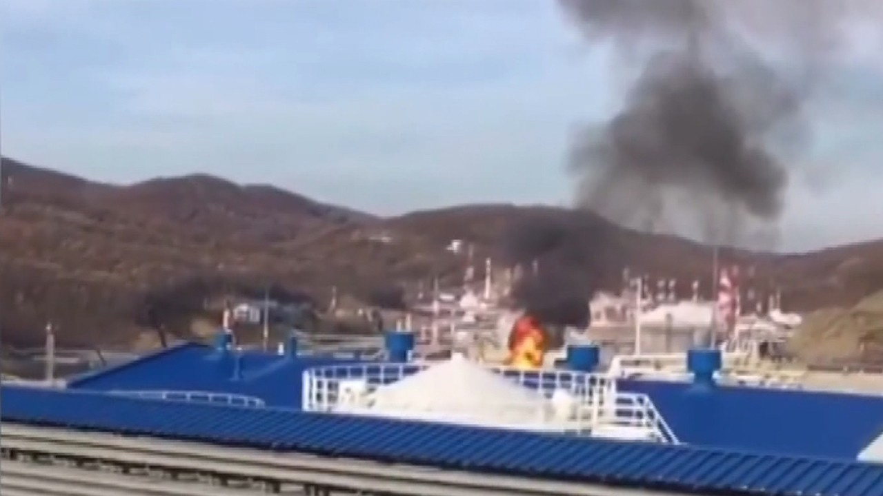 Rusya'da petrol tankı patladı!