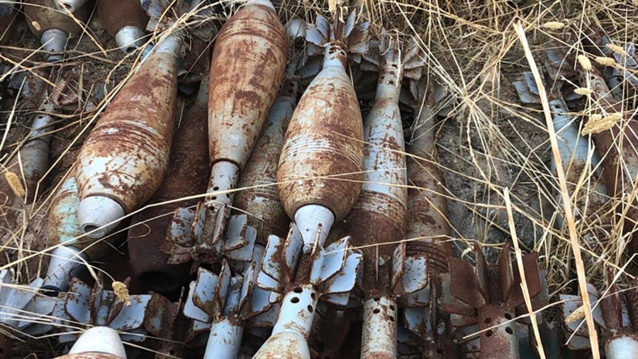 Tel Abyad'da ağır silah mühimmatı ele geçirildi