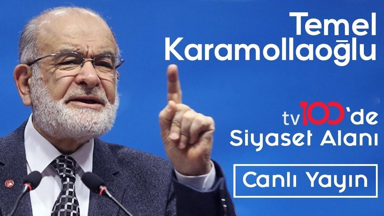 Temel Karamollaoğlu - tv100'de Siyaset Alanı