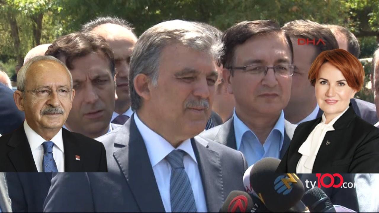 Temel Karamollaoğlu: Abdullah Gül'ü önerdim, Kılıçdaroğlu kabul etti, Akşener mesafeli durdu