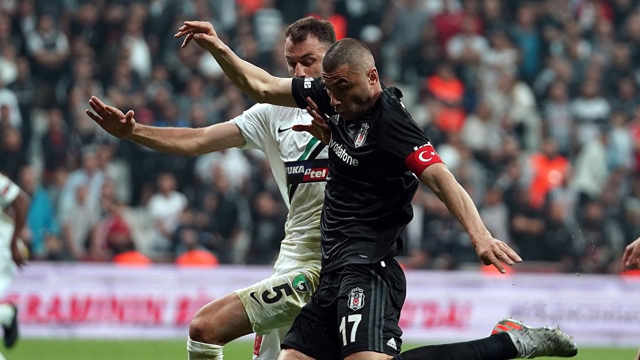 Beşiktaş evinde yine kazandı