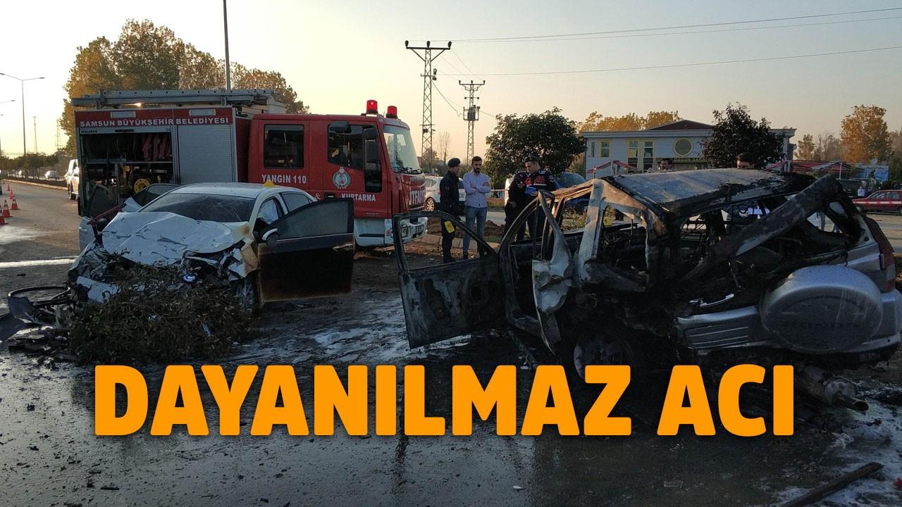 Savcı kaza yaptı, 1 ölü, 7 yaralı