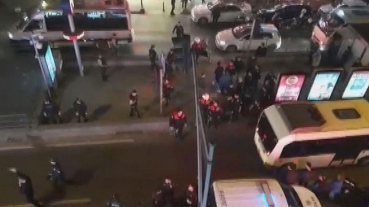 Yer: İstanbul - Bayrampaşa metro istasyonu... Genç kızın imdat çığlığına vatandaş yetişti!