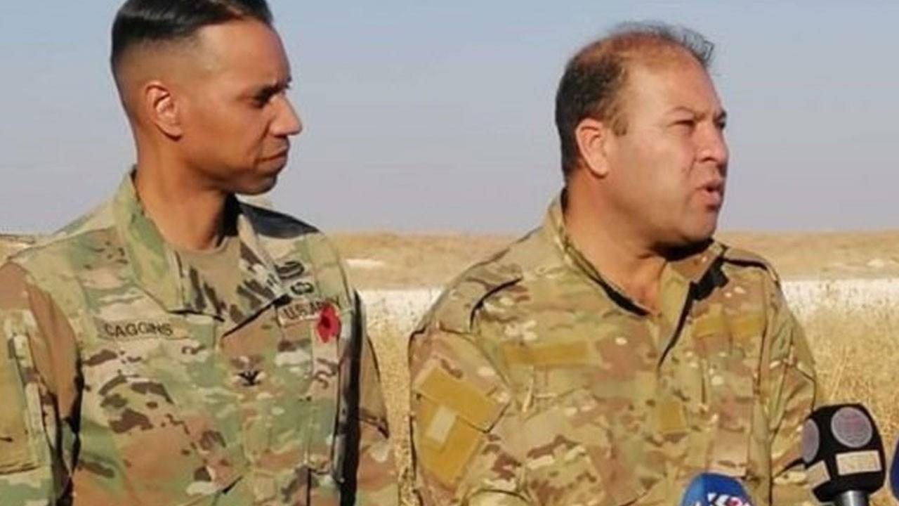 ABD'li komutanla YPG'li aynı karede