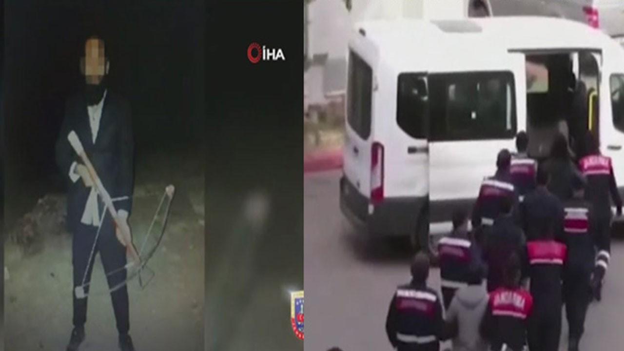 Eylem hazırlığındaki 9 DEAŞ'lı yakalandı