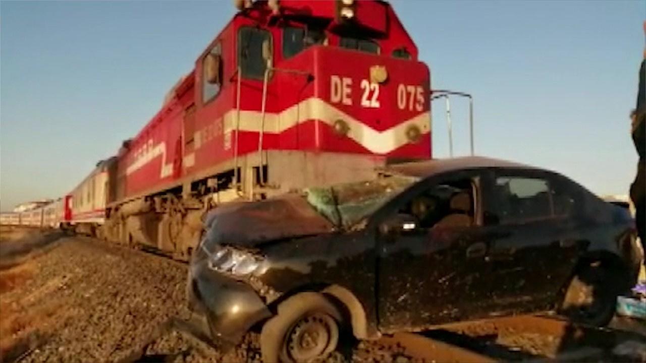 Elazığ'da tren kazası: 3 yaralı