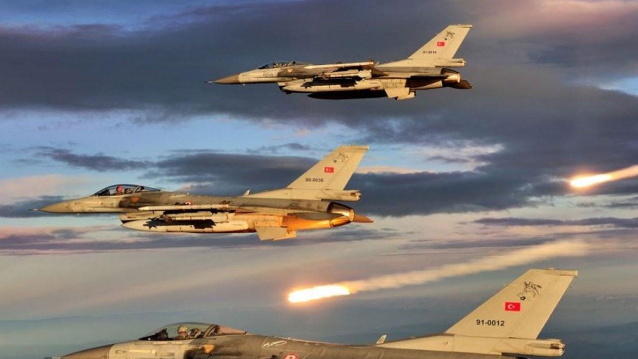Irak'ın kuzeyine hava harekatı: 6 terörist etkisiz