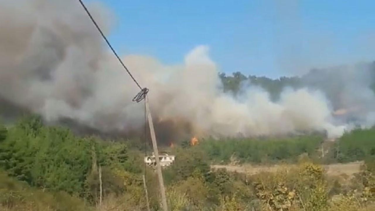 Osmaniye'de korkutan yangın!.. 2 ev boşaltıldı!