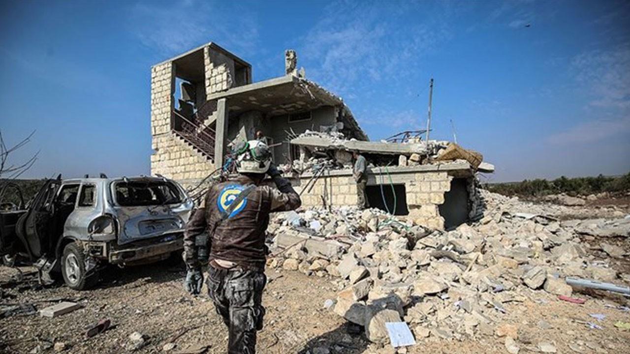 Rus savaş uçakları İdlib'e saldırı düzenledi: Çok sayıda ölü ve yaralı var