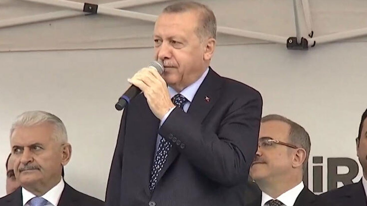Cumhurbaşkanı Erdoğan'dan 'Külliye'ye giden CHP'li' iddiasına sert tepki