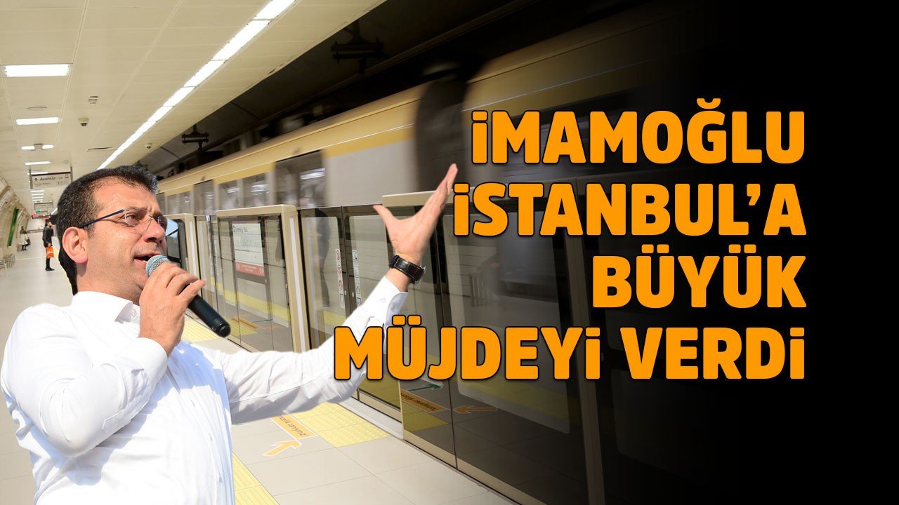 Metro inşaatlarına yeniden start verildi