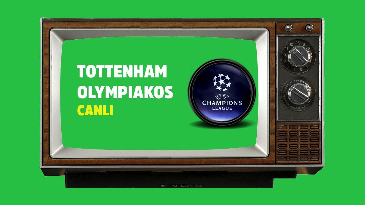 CANLI Tottenham - Olympiakos