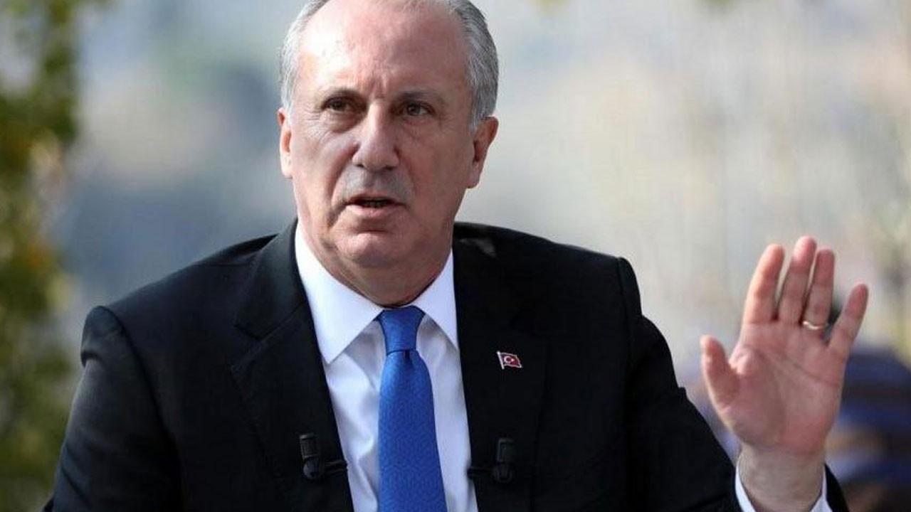Muharrem İnce'den Kemal Kılıçdaroğlu'na uyarı: Hedef sensin