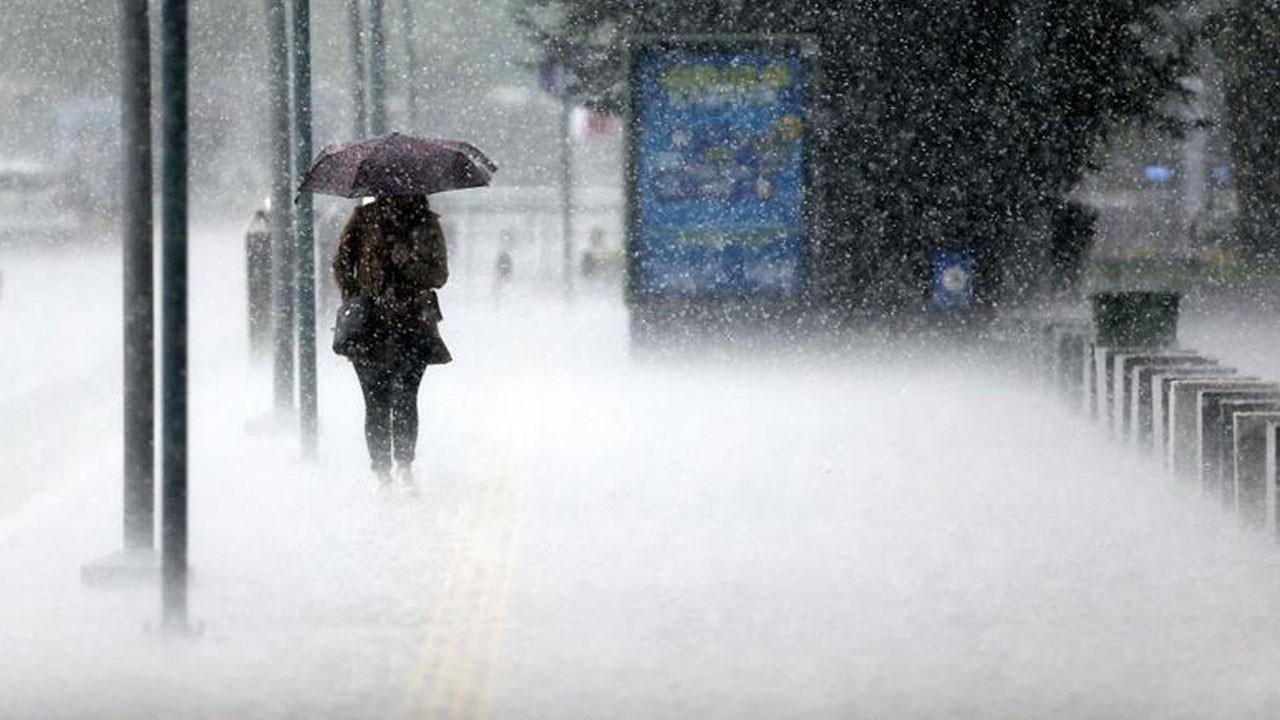 Meteoroloji bölge bölge uyardı!.. Sağanak, kar..!