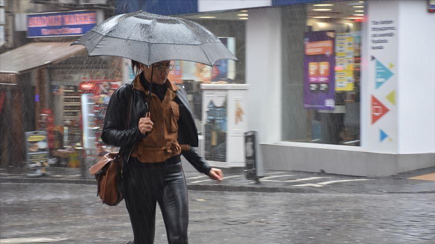 Meteorolojiden kuvvetli yağış uyarısı - Sayfa 1