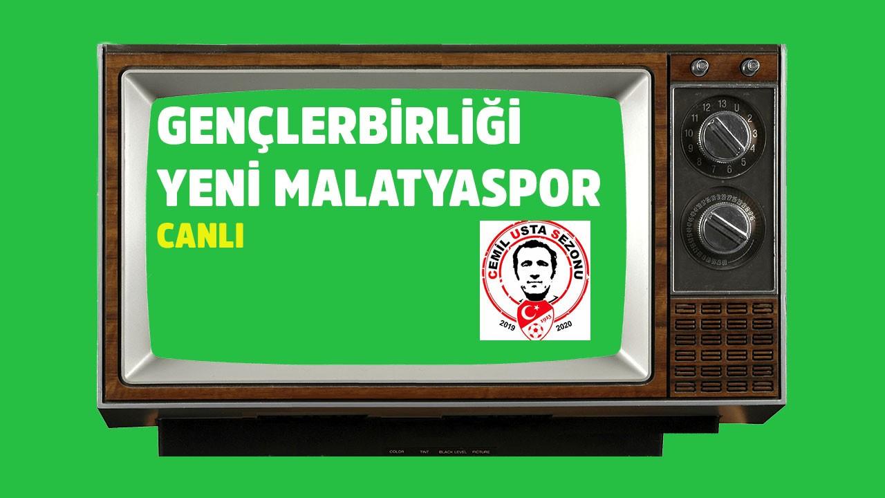 CANLI Gençlerbirliği Yeni Malatyaspor