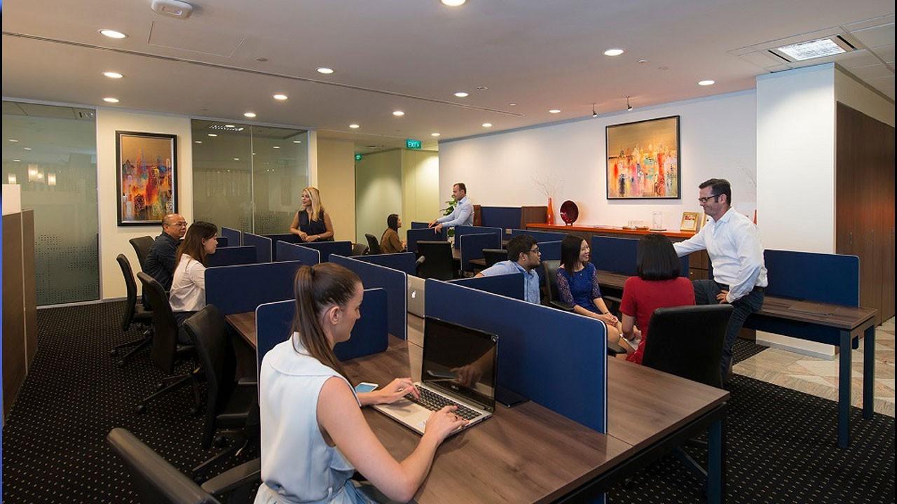 Geleceğin şirketleri hazır ofislerde kuruluyor