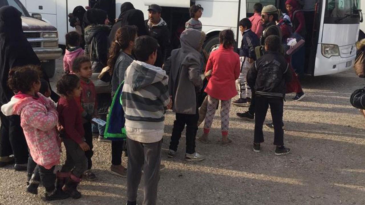 593 Suriyeli Tel Abyad'a döndü