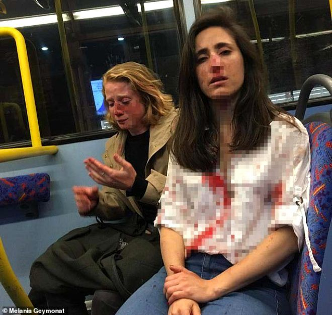 Otobüsün üst katında dehşeti yaşadılar - Sayfa 1