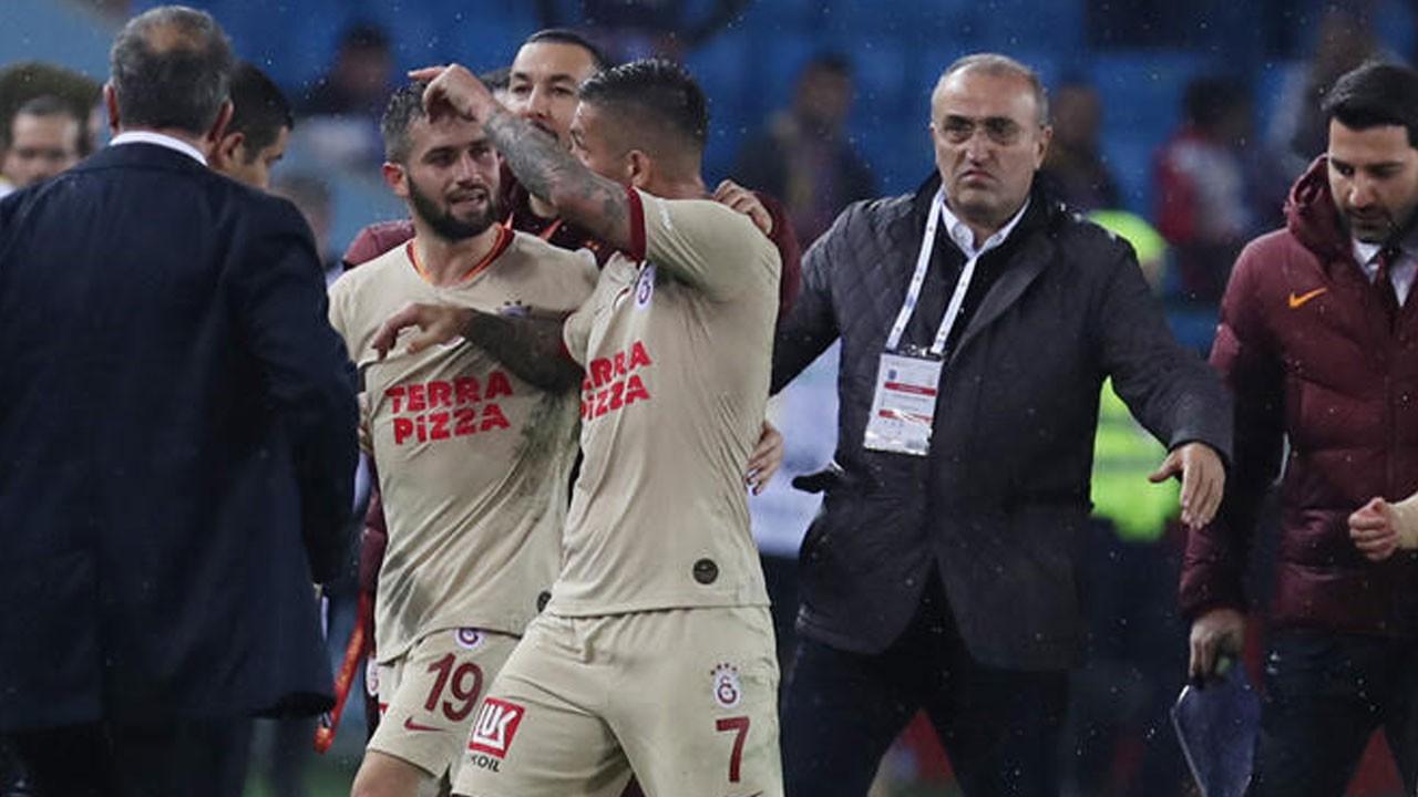 Trabzon'da  maç sonrası yumruklu saldırı!