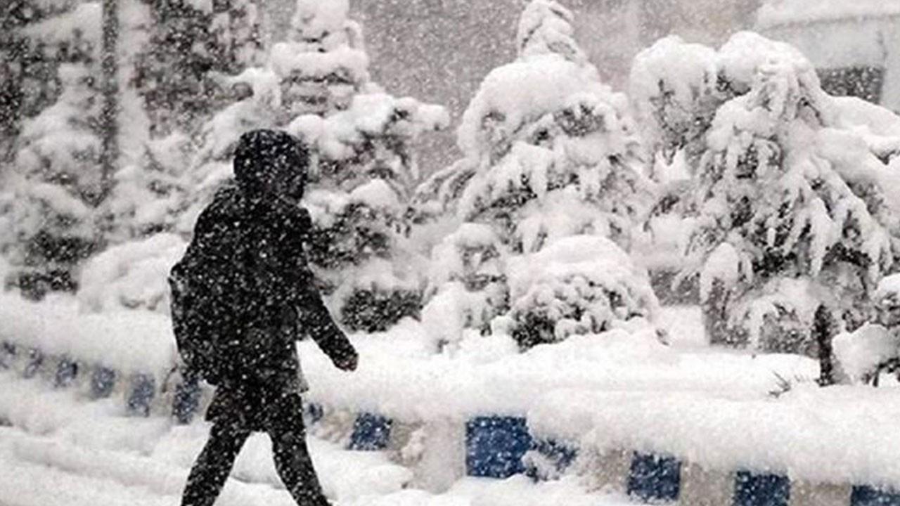 Meteorolojiden kar uyarısı: Kuvvetli geliyor