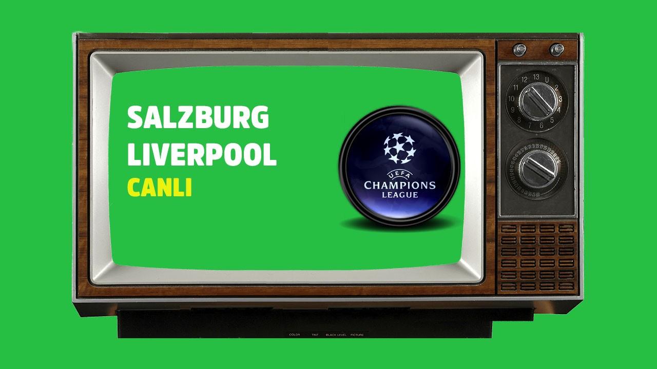 Salzburg - Liverpool  CANLI