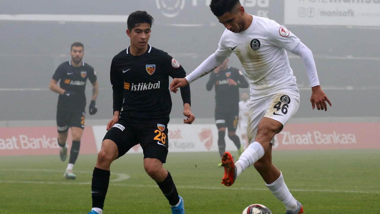 Kayserispor gol düellosundan turla çıktı