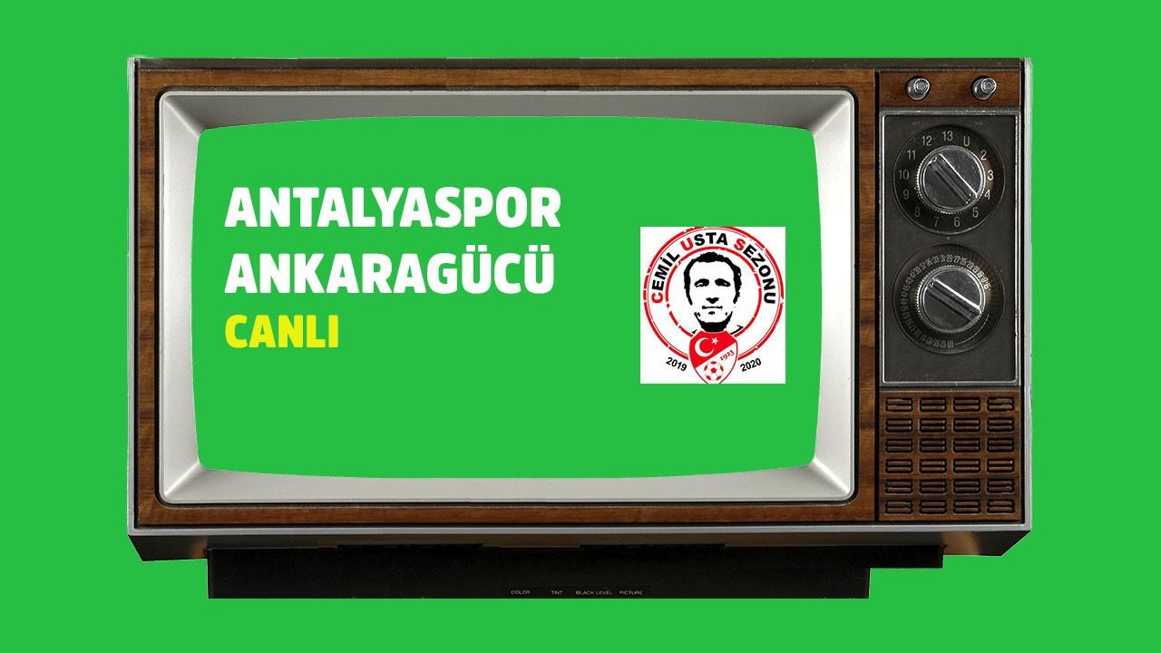 CANLI Antalyaspor - Ankaragücü