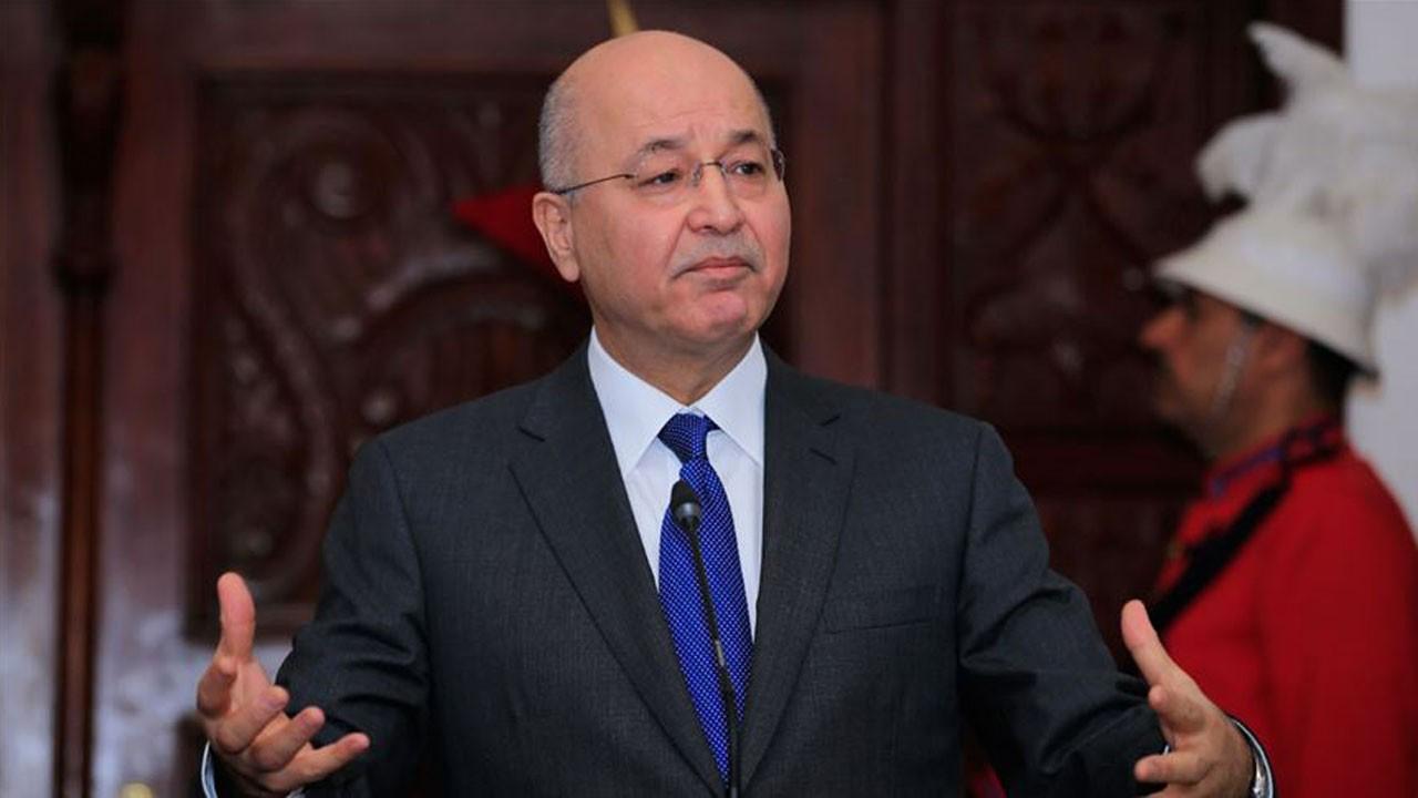 Irak Cumhurbaşkanı'ndan istifa sinyali!