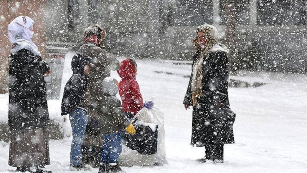 Kar nedeniyle eğitime ara verilen il ve ilçeler!