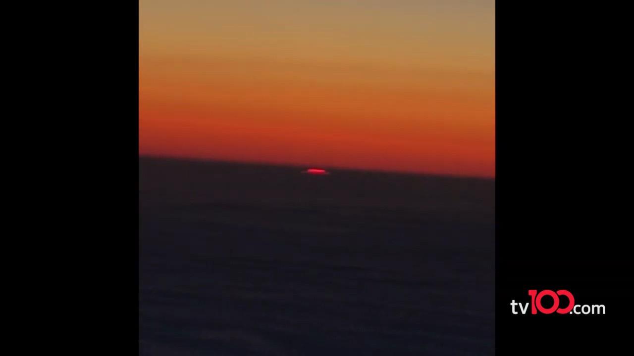 Bu görüntülerdeki UFO mu?