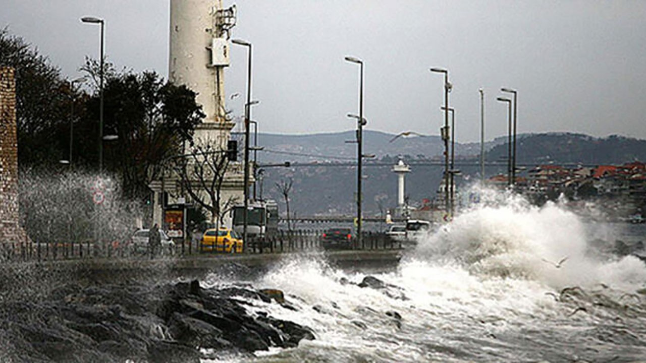 İstanbul için 'turuncu' uyarı