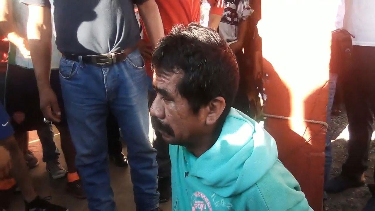 Alfredo Roblero, 6 yaşındaki kız çocuğuna tecavüz edip, öldürmekle suçlandı.