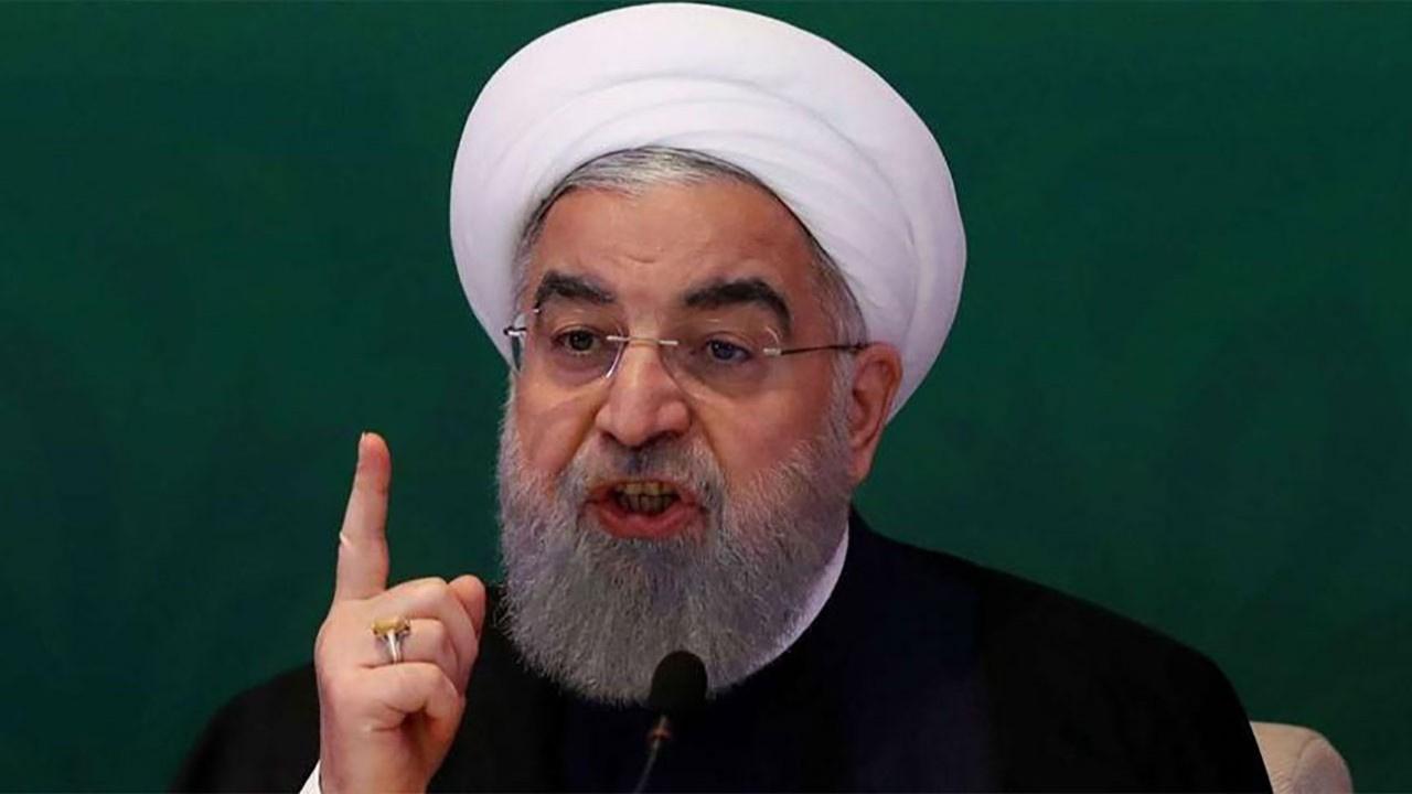 Ruhani'den Trump'a tehdit!