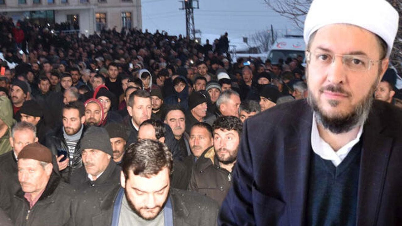 Abdulkerim Çevik'in cenazesine 10 bin kişi katıld