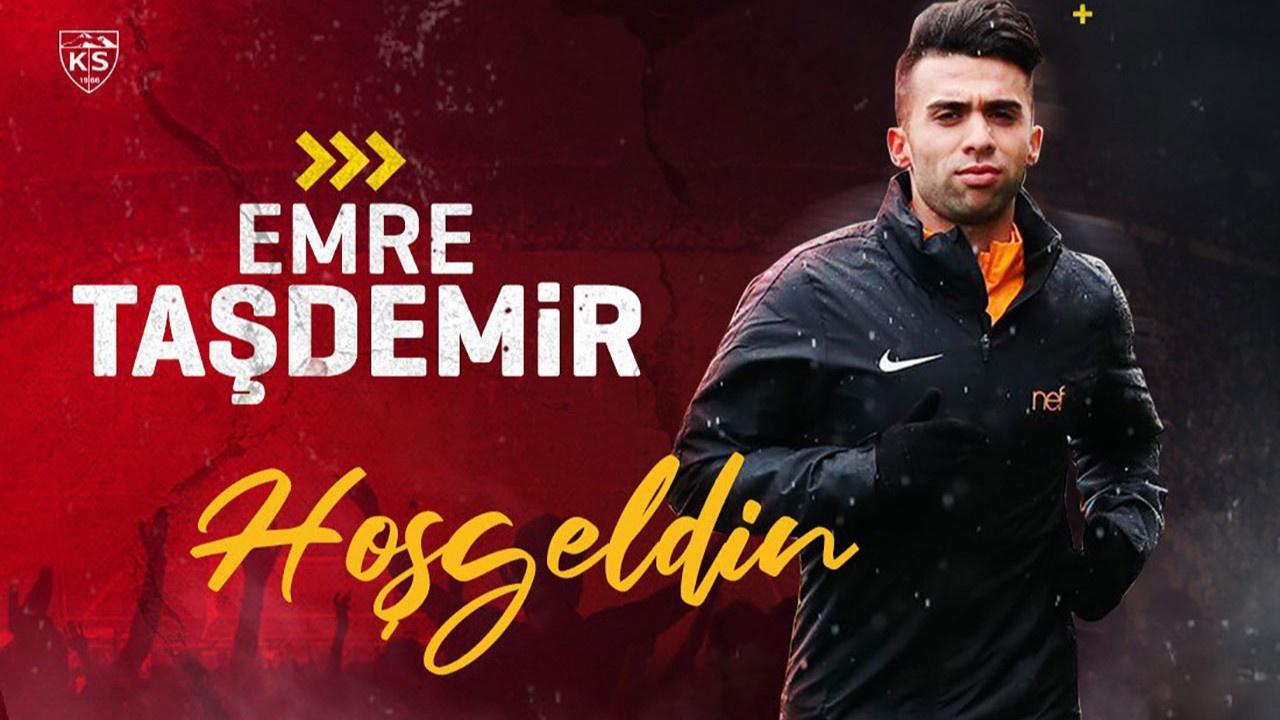 Galatasaray'dan Kayserispor'a gitti