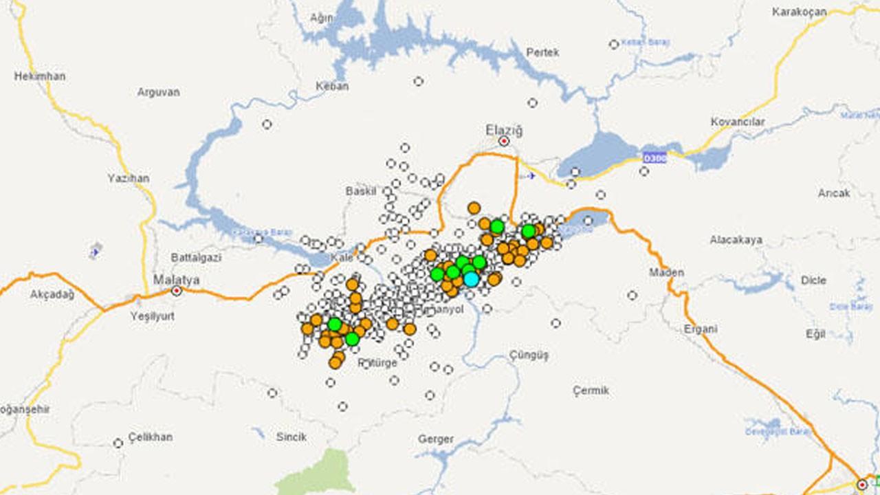 Elazığ'da son durum... 788 artçı deprem yaşandı!