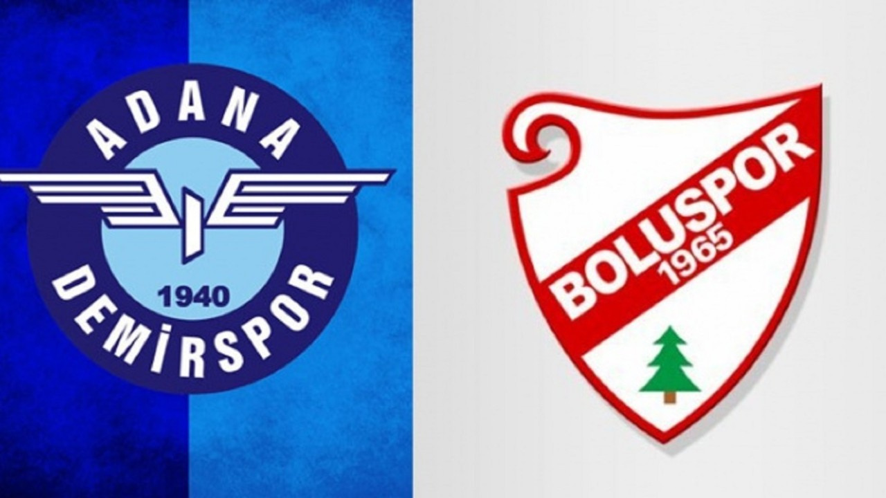 CANLI Adana Demirspor - Boluspor