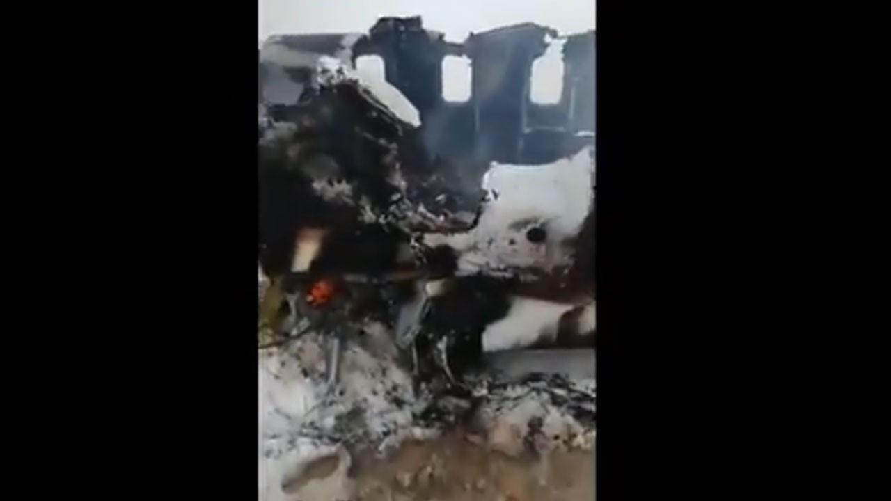 Taliban, ABD uçağını düşürdü