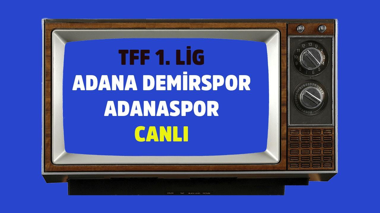 CANLI Adana Demirspor - Adanaspor