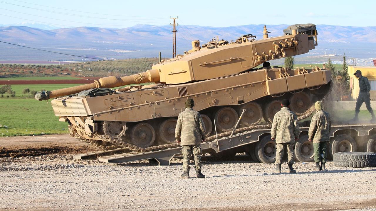 TSK'dan İdlib'e  tank sevkiyatı!