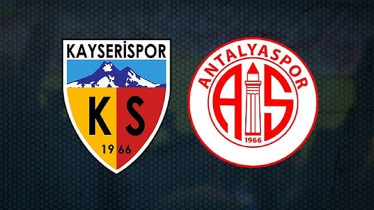 Kayserispor - Antalyaspor  CANLI