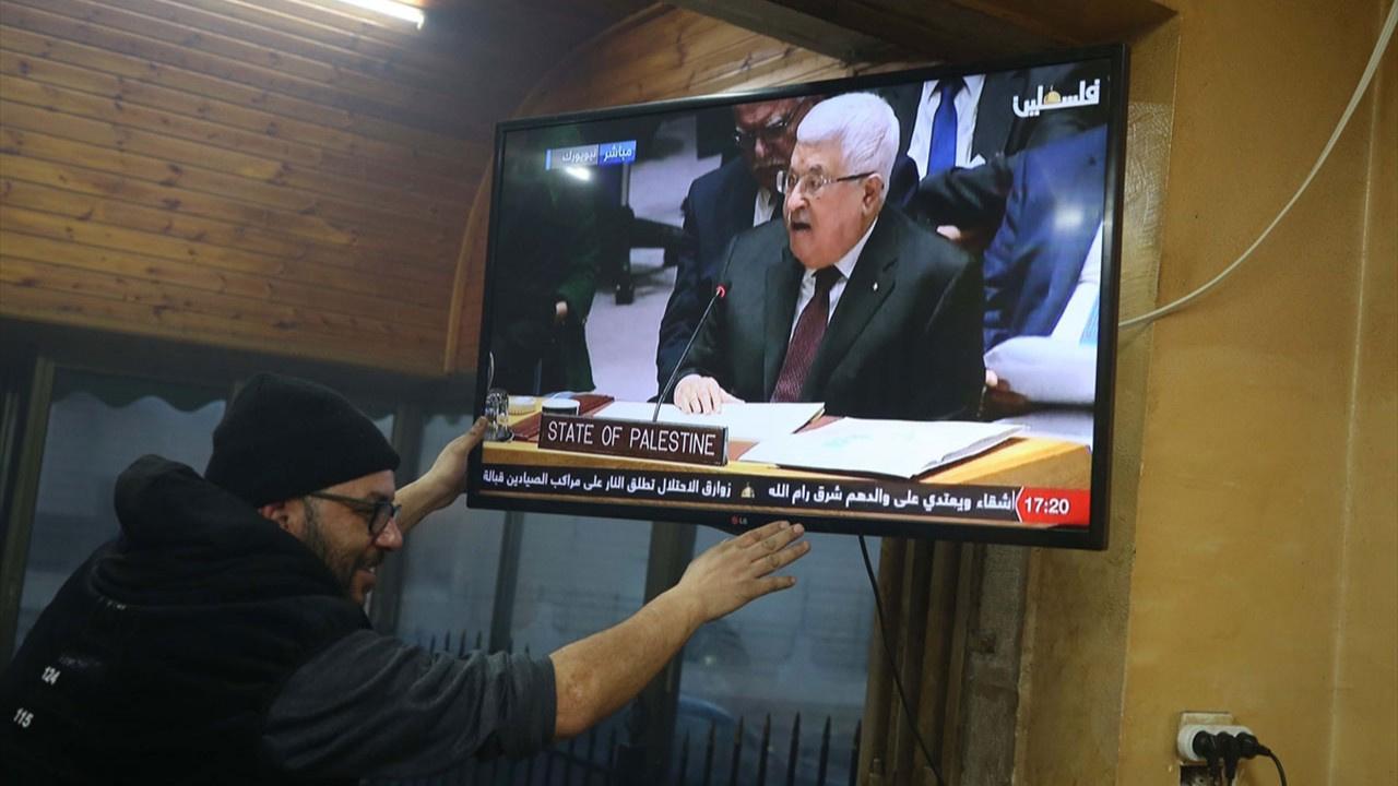 Mahmud Abbas'tan İsrail'e çağrı
