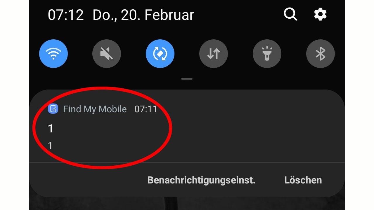 Samsung'lara gece yarısı gelen gizemli mesaj!