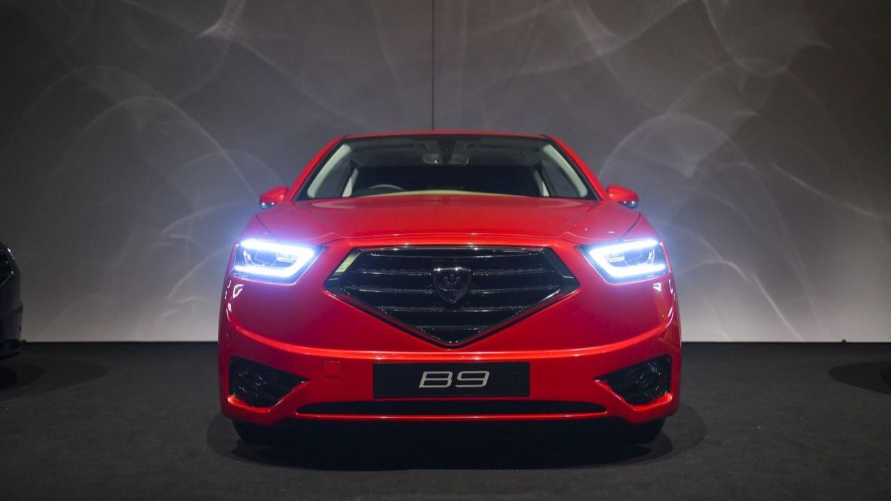 KKTC'nin yerli otomobili Günsel B9 tanıtıldı