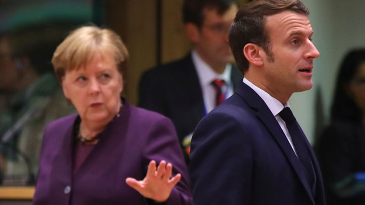 Macron ve Merkel'den İdlib çağrısı