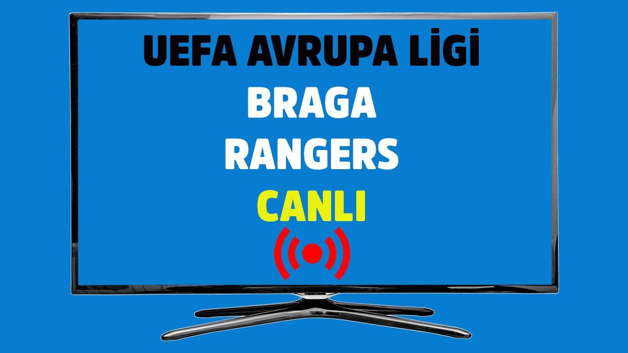 CANLI Braga - Rangers