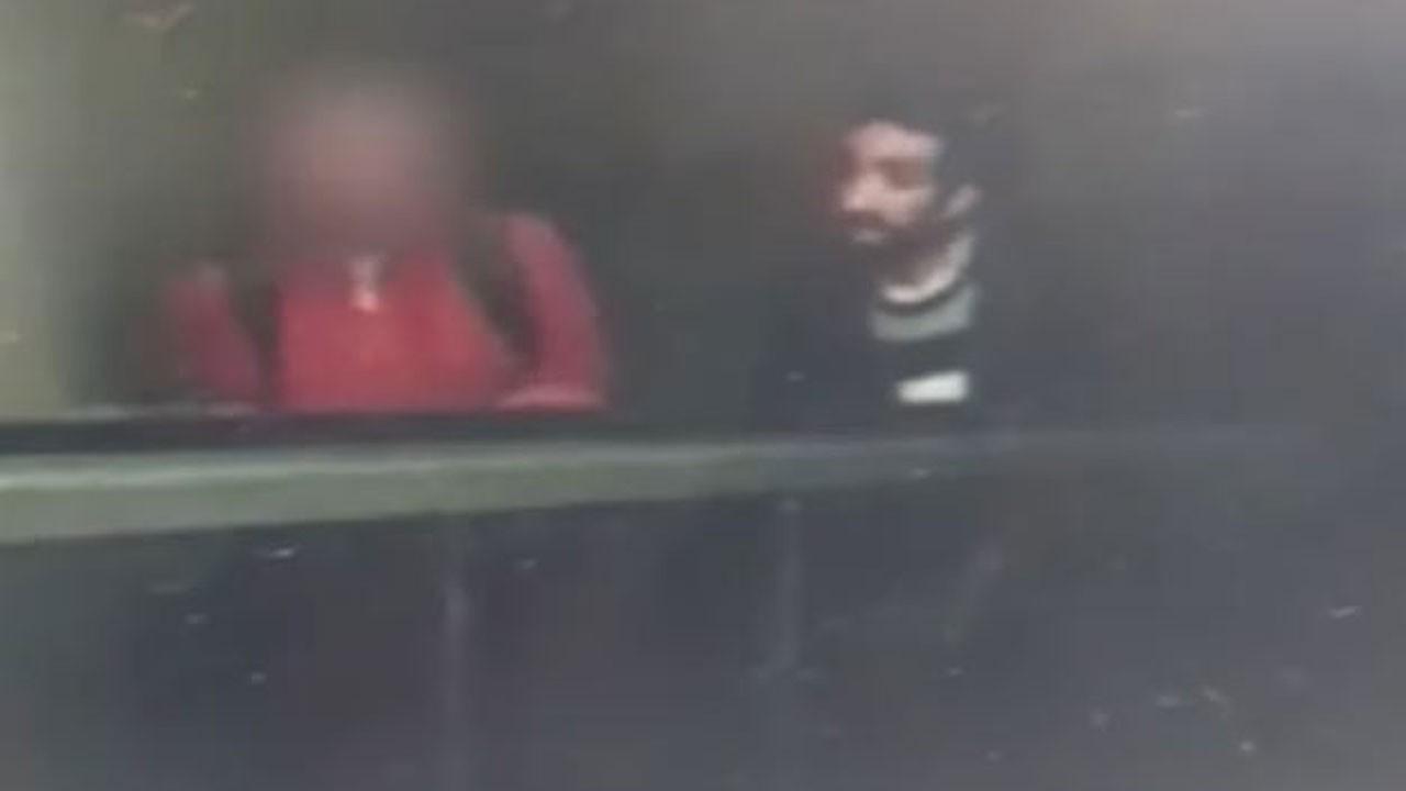 Metroda cinsel saldırı iddiası