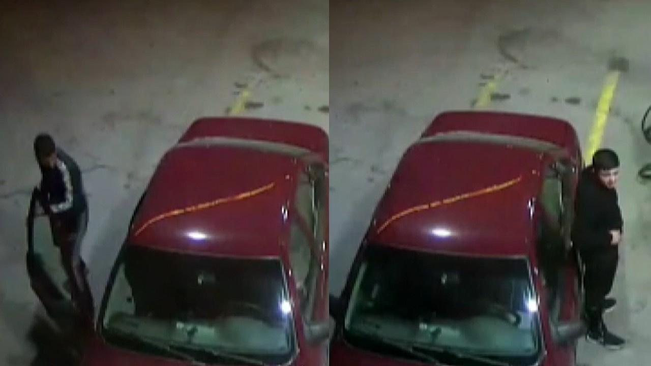 Çaldıkları otomobile benzin alırken yakalandılar!